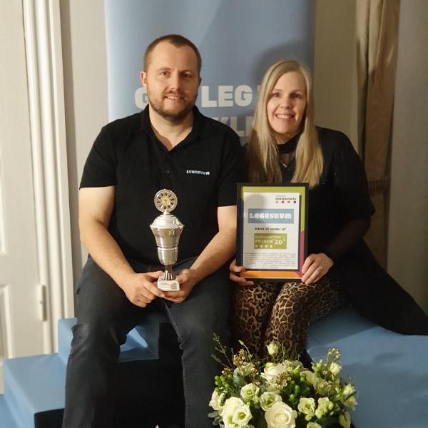 Vinderen af Iværksætterprisen'20 er Legeskum