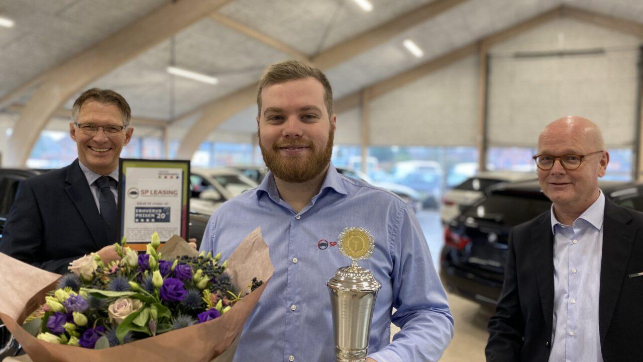 SP Leasing er vinder af Erhvervsprisen'20