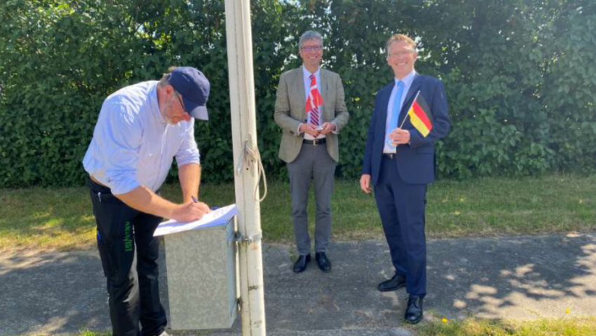 Tønder Erhvervsråd skriver under på aftale med WFG NF til gavn for Hele Tønder området