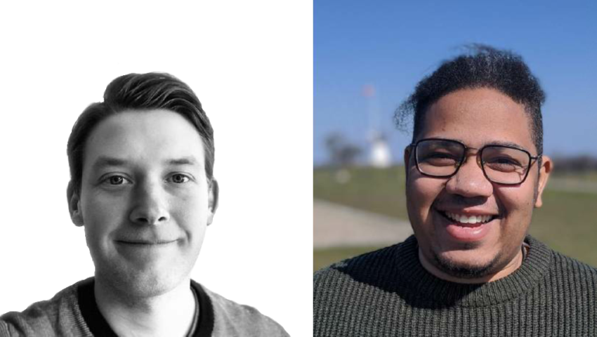 Emil og Adam skriver speciale om barrierer der fraholder ledige borgere i Tønder kommune i at søge job i Tyskland