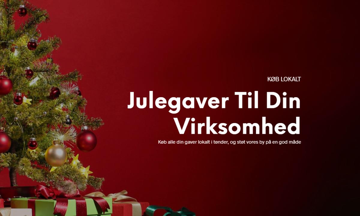 Julegaventonder.dk – gør det nemt for lokale virksomheder at støtte de lokale butikker