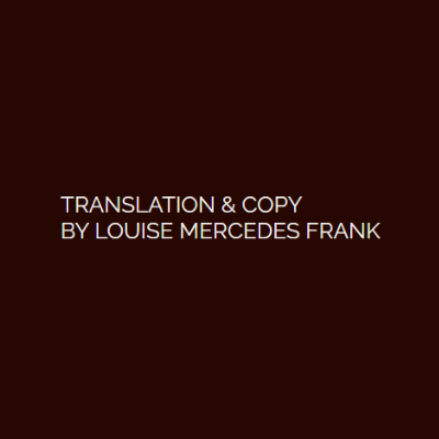 Mercedes Frank translation and copywriting